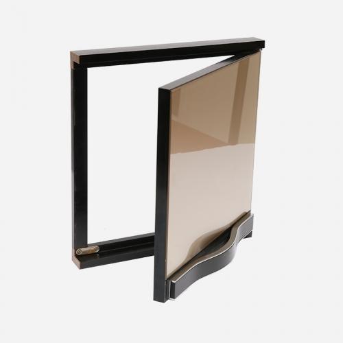 厨房装修如何选择晶钢门铝材橱柜