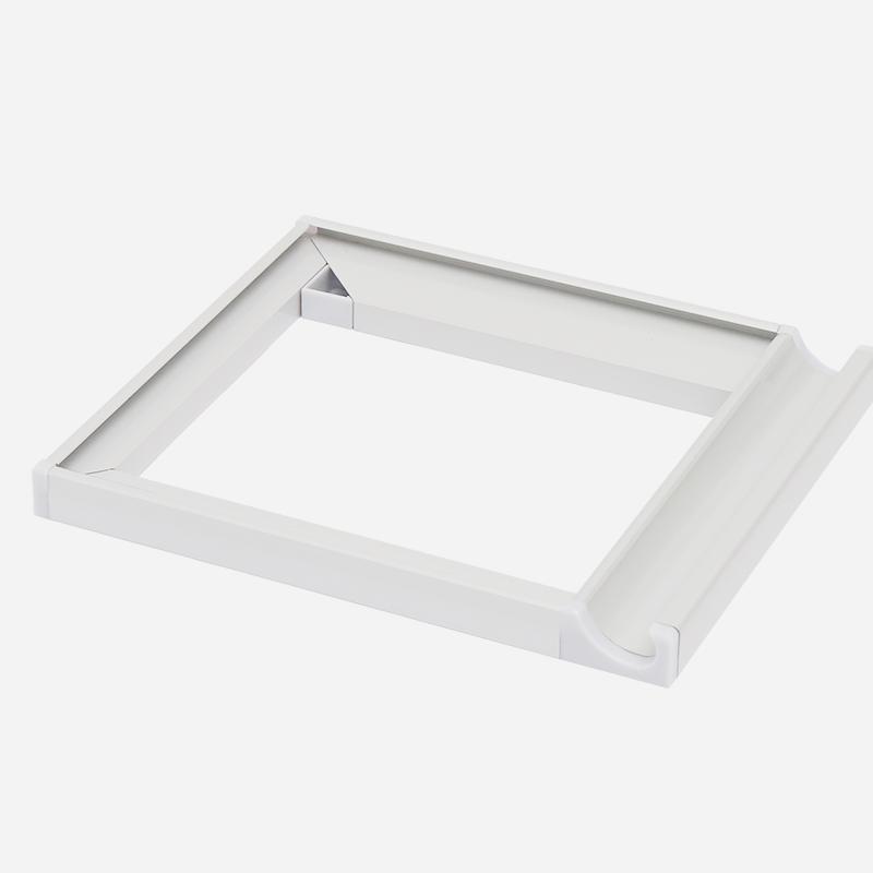 晶钢门4、5厘单门型材